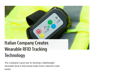 WEARABLE RFID TRACKING FOR WASTE