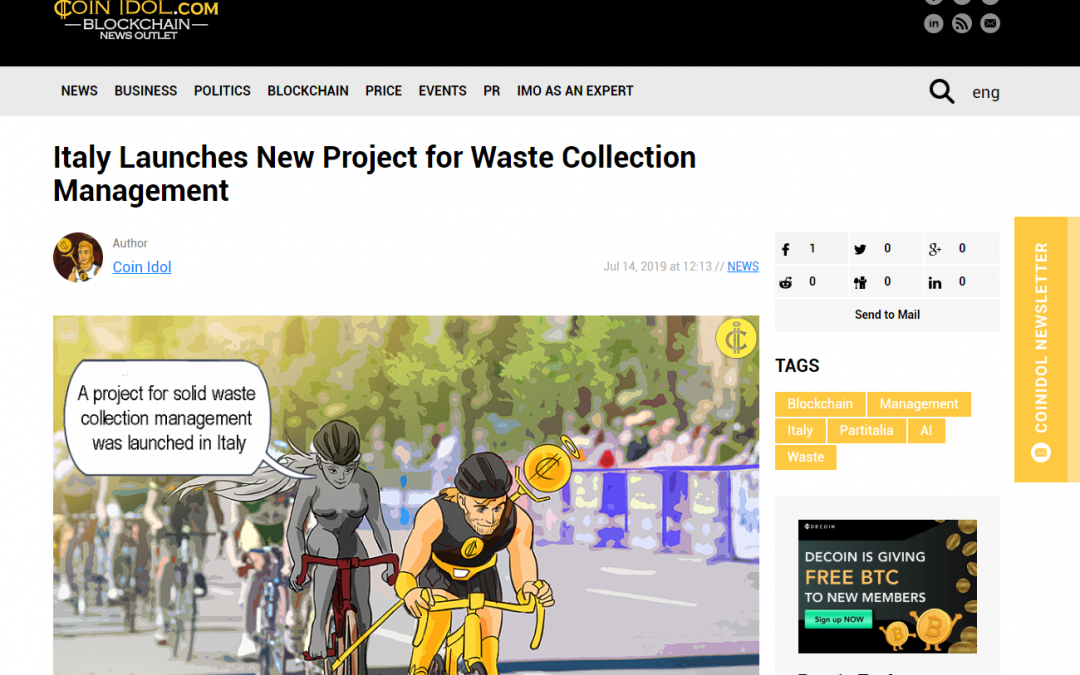 NEW PROJECT FOR WASTE COLLECTION