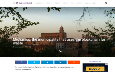 MIGLIANICO AND THE BLOCKCHAIN